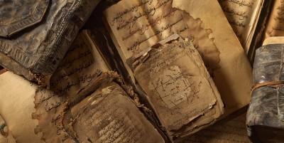 Creative_Wallpaper_Ancient_Arabic_books_095563_1