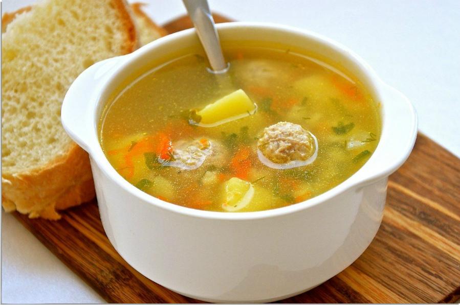 Вкусный суп с фрикадельками рецепт с фото