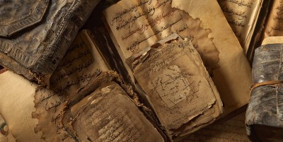 Creative_Wallpaper_Ancient_Arabic_books_095563_1