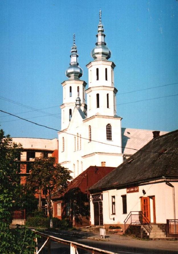 Katolucka cerkva Perechun