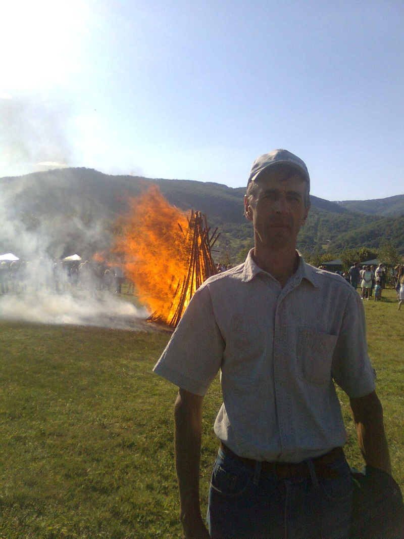 На Перечинщині всьоме палала «Лемківська ватра». ФОТО