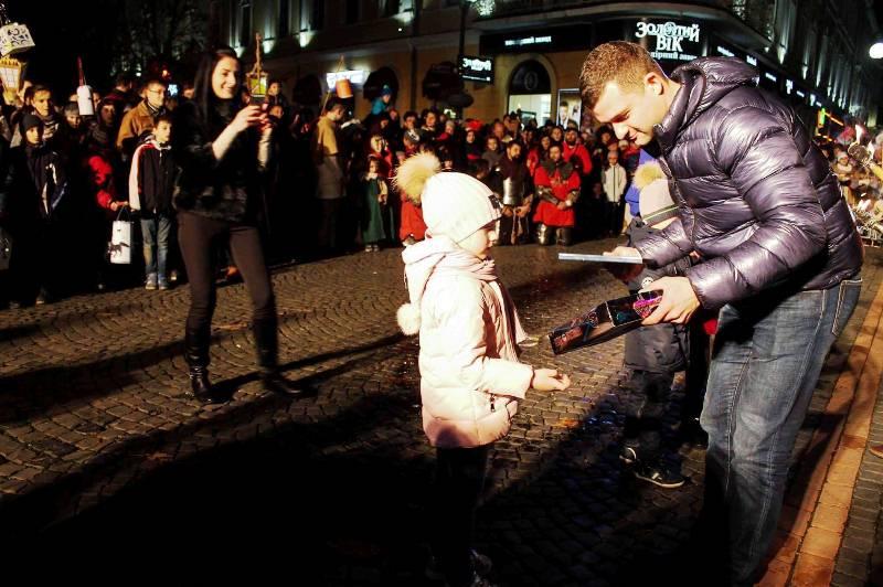 В Мукачеві відзначають День покровителя міста Святого Мартина. ФОТО