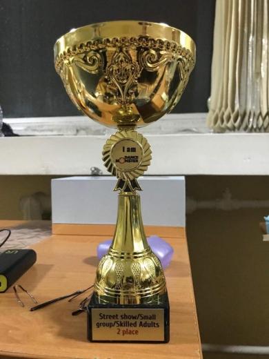 Танцівники ужгородського «Бліцу» повернулися зі столиці з нагородами. ФОТО