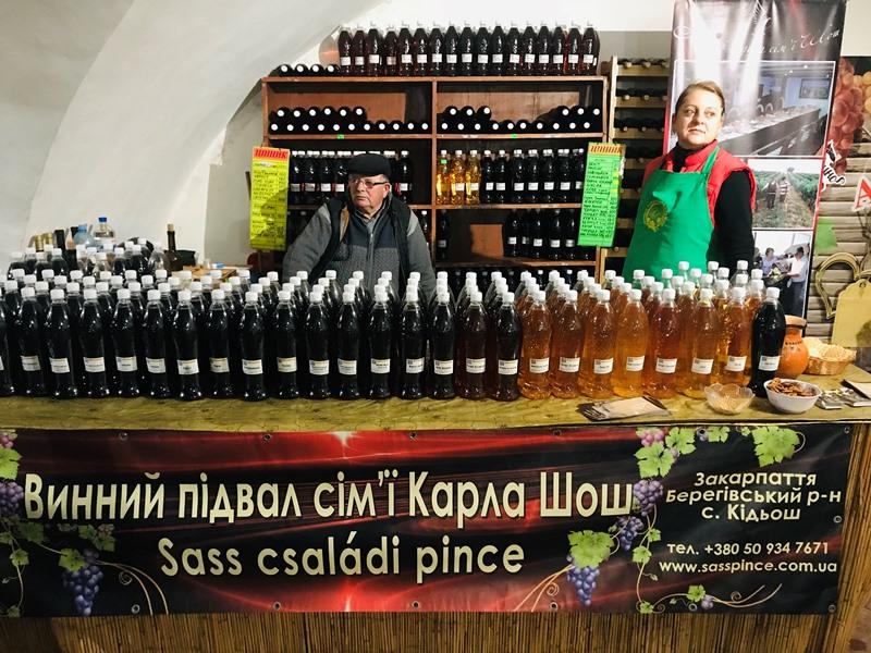 Свято молодого вина «Закарпатське Божоле» в розпалі! Фото, відео