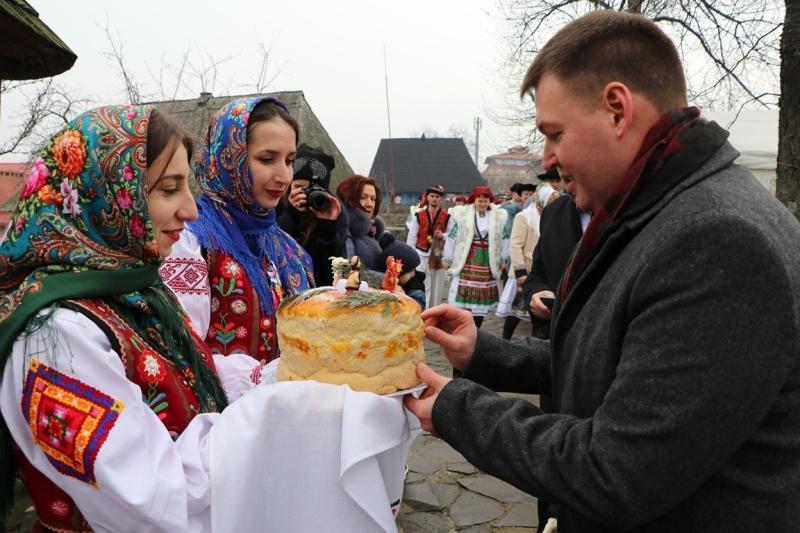 Ужгородський скансен звучав різдвяними піснями з усіх куточків Закарпаття. Фото